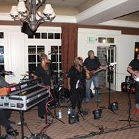 Melvin Seals and the Jerry Garcia Band perform at the Cronin wedding in September, 2017
