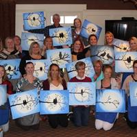 June 2017 Paint Night at AGCC