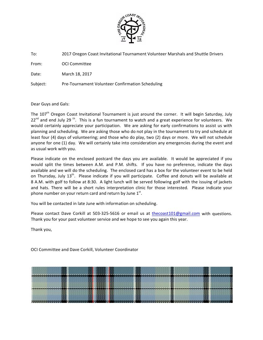 Volunteer information astoria golf cc volunteer information spiritdancerdesigns Images